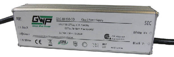 Constant Current AC/DC LED Power Supplies deliver 30 W output.