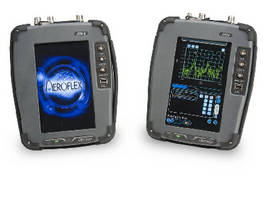 Digital Radio Test System features color touchscreen.