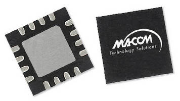 GaAs MMIC Doubler features self-biased configuration.
