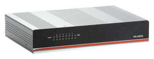 Fanless 1U Network Appliance targets SOHO applications.