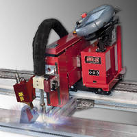 Portable Welding Robot includes laser vision system.