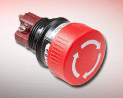 Stop Switches suit space sensitive applications.