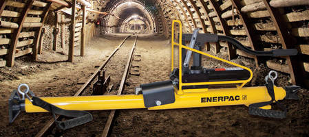 Rail Alignment Tool suits underground mining applications.