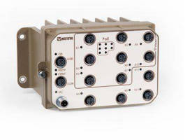PoE Switches target on-board railway applications.