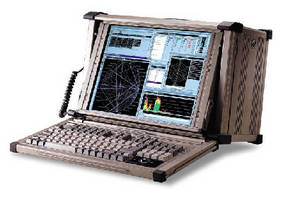 Portable Military Workstation withstands hostile environments.