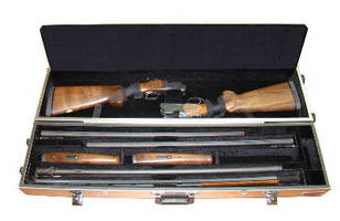 Gun Case holds 2 complete shotguns.