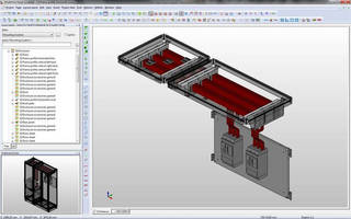 CAE Software facilitates control cabinet design, assembly.
