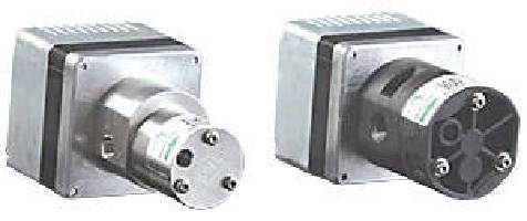Magnetic Drive Gear Pumps feature integrated driver circuit.
