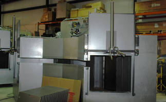 Hot Air Curved Oven Systems can be heated by gas or electrically.
