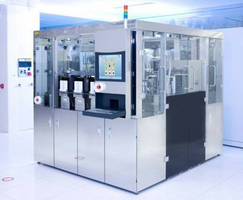 Automated Resist Processing System handles high-volume jobs.