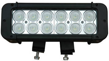 High-Intensity LED Light offers choice of color output.