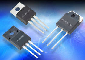 High-Speed Discrete IGBTs feature low saturation voltage.