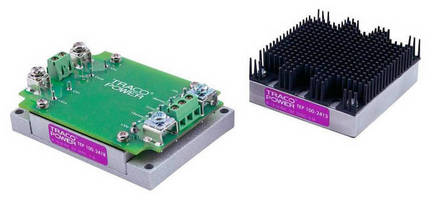DC/DC Converter Modules offer 75-240 W output ratings.