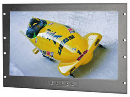 Rack-mount HD Touchscreen Monitor fits in 19 in. rack.