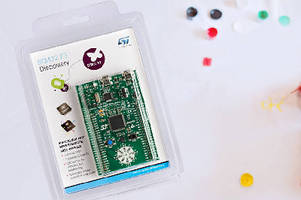 Development Kit features on-board 9-axis MEMS sensors.