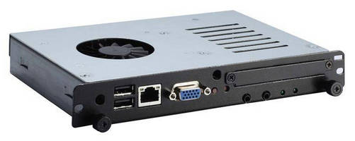 Digital Signage Player features OPS-compliant design.