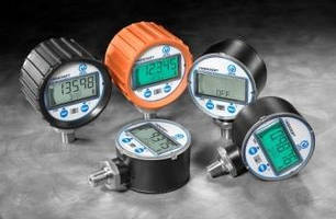 Digital Pressure Gauge facilitates monitoring through design.