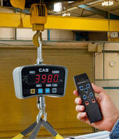 Heavy-Duty, Portable Crane Scale comes with wireless remote.