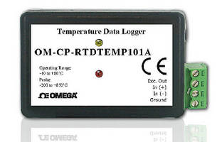 RTD Temperature Data Logger stores 670,000 readings.