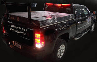 Custom Storage System enhances law enforcement vehicles.