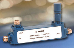 Ultra-Broadband Directional Coupler covers 1.0-50.0 GHz range.