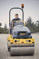 Tandem Vibratory Roller  provides all-around visibility.