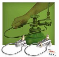 Fast, Safe Connectors serve compressed gas filling applications.