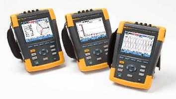 Power Quality and Energy Analyzer captures 400 Hz measurements.