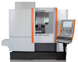 High-Performance VMC offers 3-axis milling capabilities.