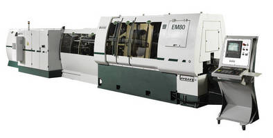 CNC End Machining Center suits tube and bar processing.