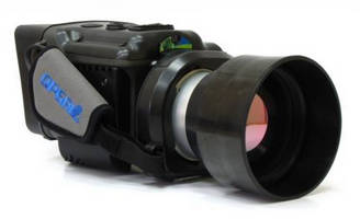 Certified IR Gas Imaging Camera detects leaks at long range.