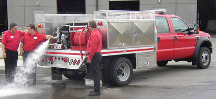 Custom Fire Truck Body endures extreme off-road use.
