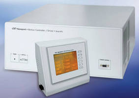 Universal Motion Controller/Driver offers 10 KHz DAQ rates.