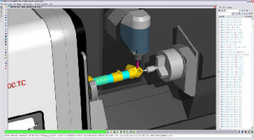 CNC Simulation Software accelerates commonly performed tasks.