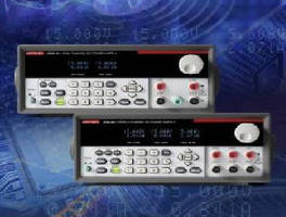Programmable DC Power Supplies feature isolated output channels.