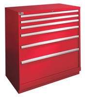 Storage Cabinet maximizes space and increases efficiency.