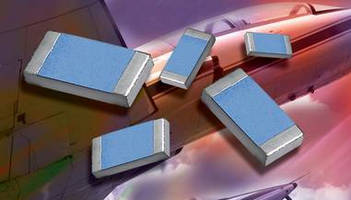 SMT Precision Foil Resistors meet low TCR, tight tolerances.