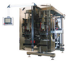Bagging Machine employs 2 augers and can produce 250 bags/min.