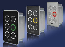 Keypad Module with Illuminated Keys offers intuitive operation.