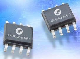 MOSFETS offer switching speed and on-resistance.