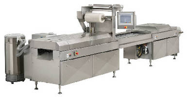 Horizontal Form-Fill-Seal Machine operates at 10-15 cycles/min.