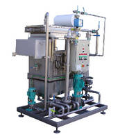 Ultrafiltration System extends solution life of cleaning baths.