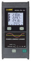 Power/Energy Datalogger integrates 67 x 55 mm backlit LCD.