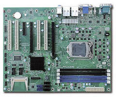 ATX Motherboard supports 3rd generation Intel Core processors.