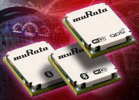 Miniature Wireless Module provides 5 connectivity standards.