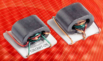 Wideband Miniature Transformers meet NASA low-outgassing specs.