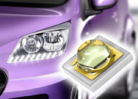 White LED Light targets automotive sector.