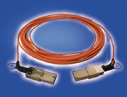 Active Optical Cable Assemblies offer CXP connection option.