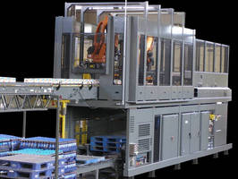 Hybrid Palletizers operate using PLC control system.
