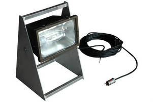 Pedestal-Mounted Work Light is UL-rated for hazardous/wet areas.